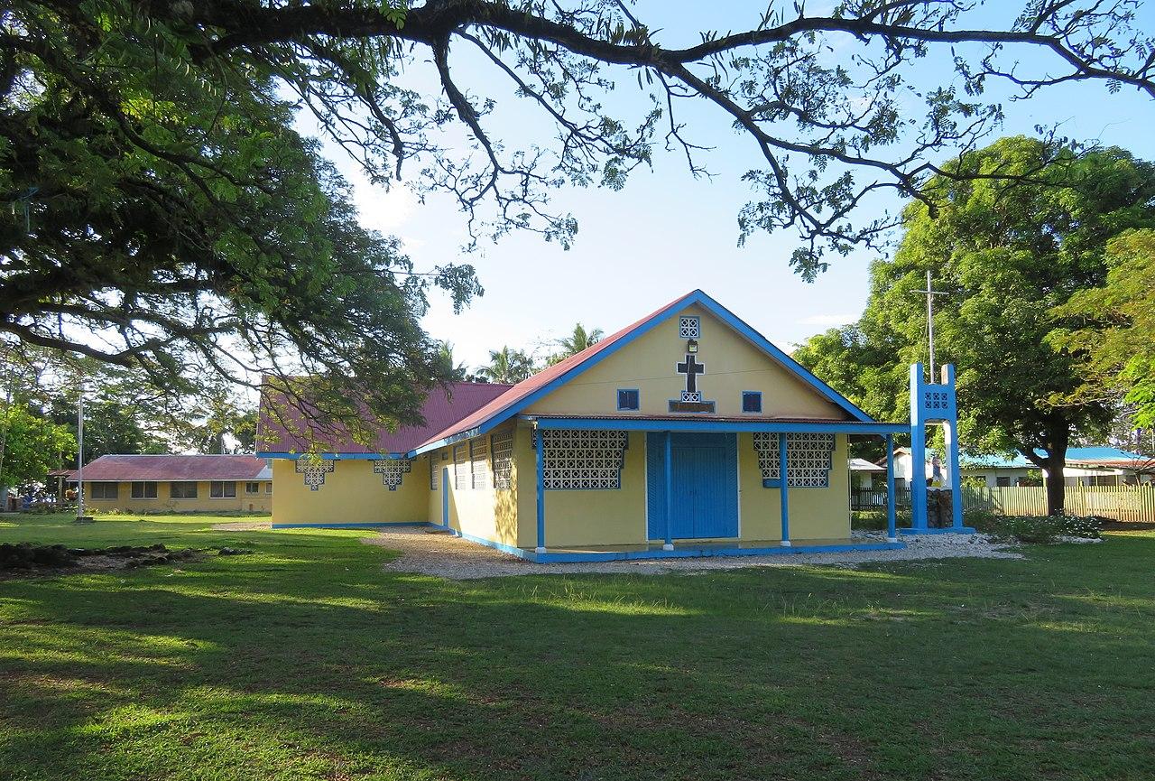 Gereja Katolik di Tanagai pada Guadalcanal