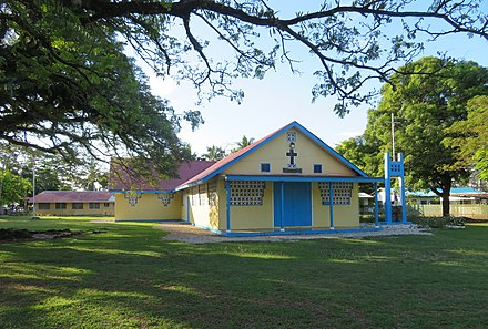 Catholic Church in Tanagai on Guadalcanal