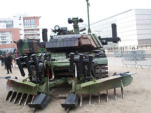 Engineering Arm - A French armoured engineering vehicle