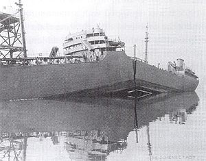Fracture mechanics - The S.S. ''Schenectady'' split apart by brittle fracture while in harbor, 1943.