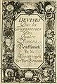 Tapisseries du roy, ou sont representez les quatre elemens et les quatre saisons - avec les devises qvi les accompagnent and leur explication - Königliche französische Tapezereyen, oder überauss (14559358560).jpg