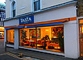 Tazza Coffee nicely lit up, SUTTON, Surrey, Greater London 01.jpg