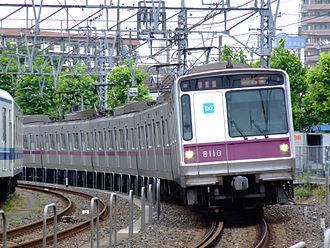 Tokyo Metro Hanzōmon Line - Image: Teito Rapid Transit Authority 8010