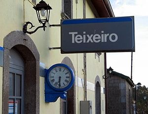 Teixeiro - Train station of Teixeiro