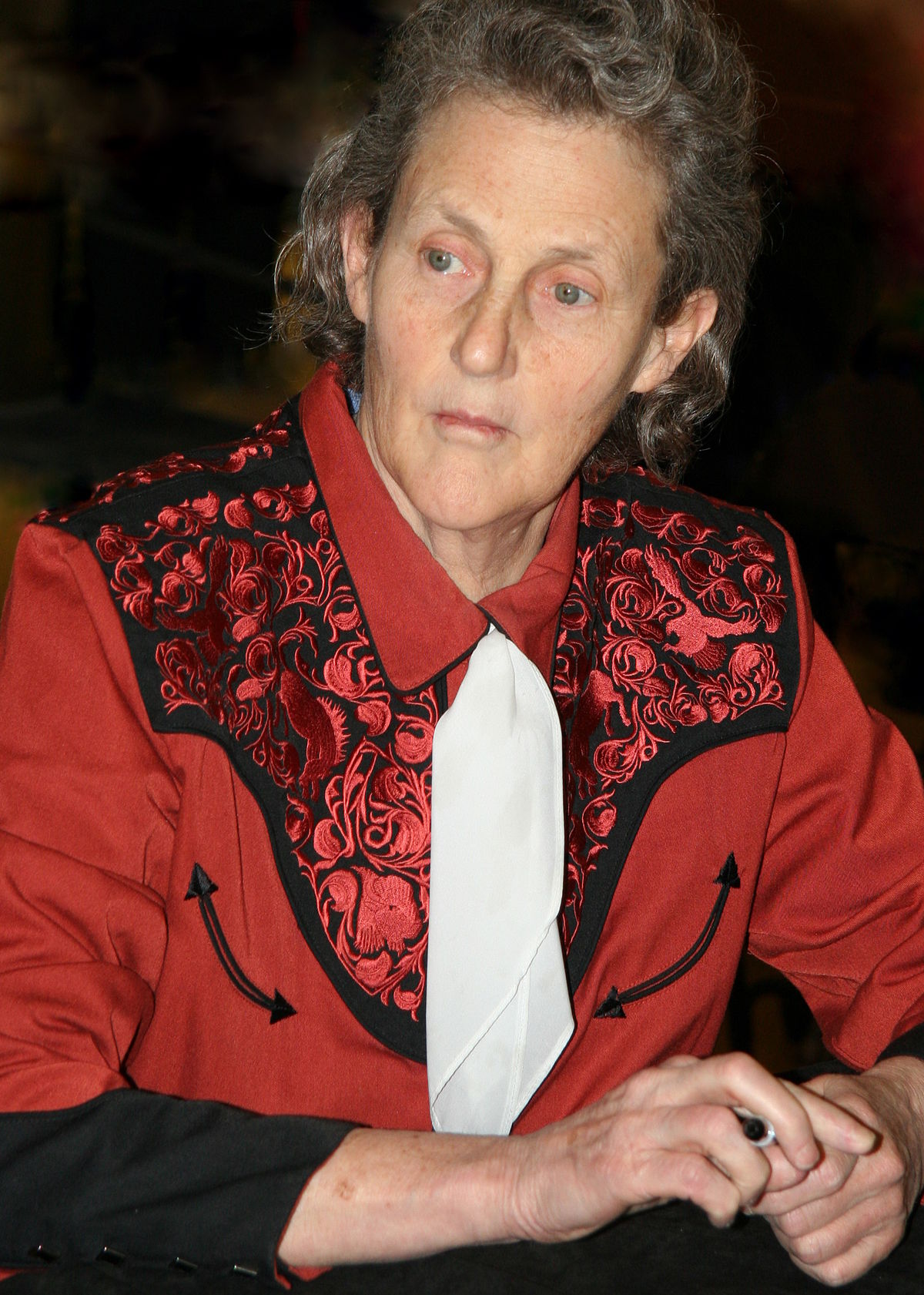Aspergers Student Leads Female Autism >> Temple Grandin Wikipedia