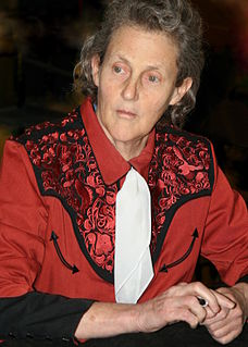 Temple Grandin American doctor of veterinary science, author, and autism activist
