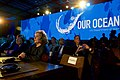 Teresa Heinz Kerry, Wife of Secretary Kerry Watches Actor and Environmentalist Leonardo DiCaprio Delivers Remarks at the 2016 Our Ocean Conference in Washington (29597421202).jpg