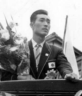 Teruji Kogake Japanese triple jumper and sports administrator