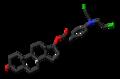 Testifenon molecule skeletal.png