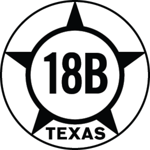 Texas State Highway 18 - Image: Texas Hist SH18B