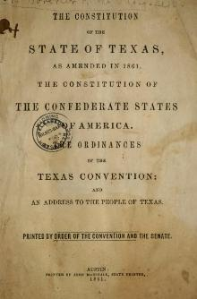 Texas Constitution and Secession.djvu