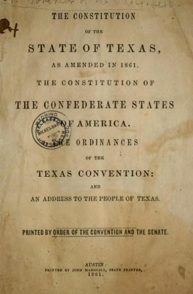 File:Texas Constitution and Secession.djvu