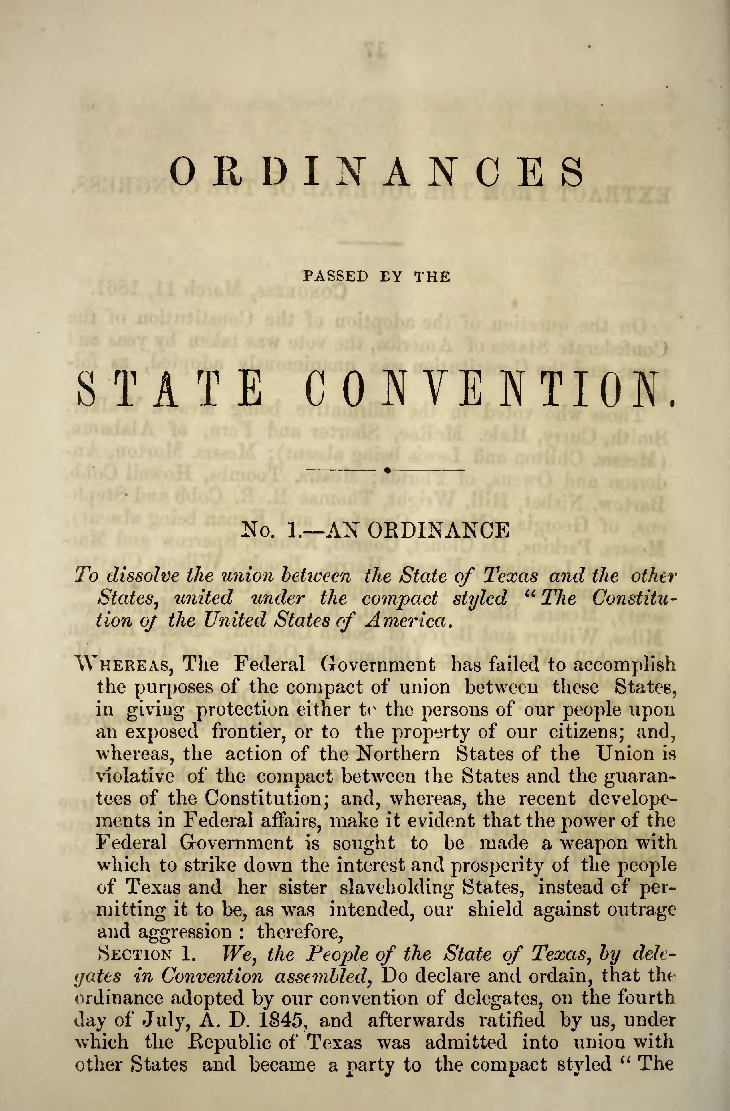 Page:Texas Constitution and Secession.djvu/59 - Wikisource, the ...