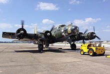 Bombardier B-17 Texas Raiders de la Commemorative Air Force.