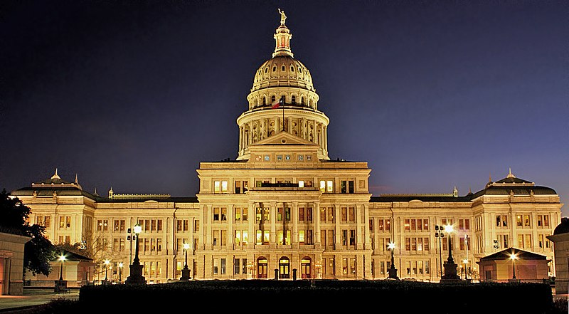 File:Texas State Capitol Night.jpg