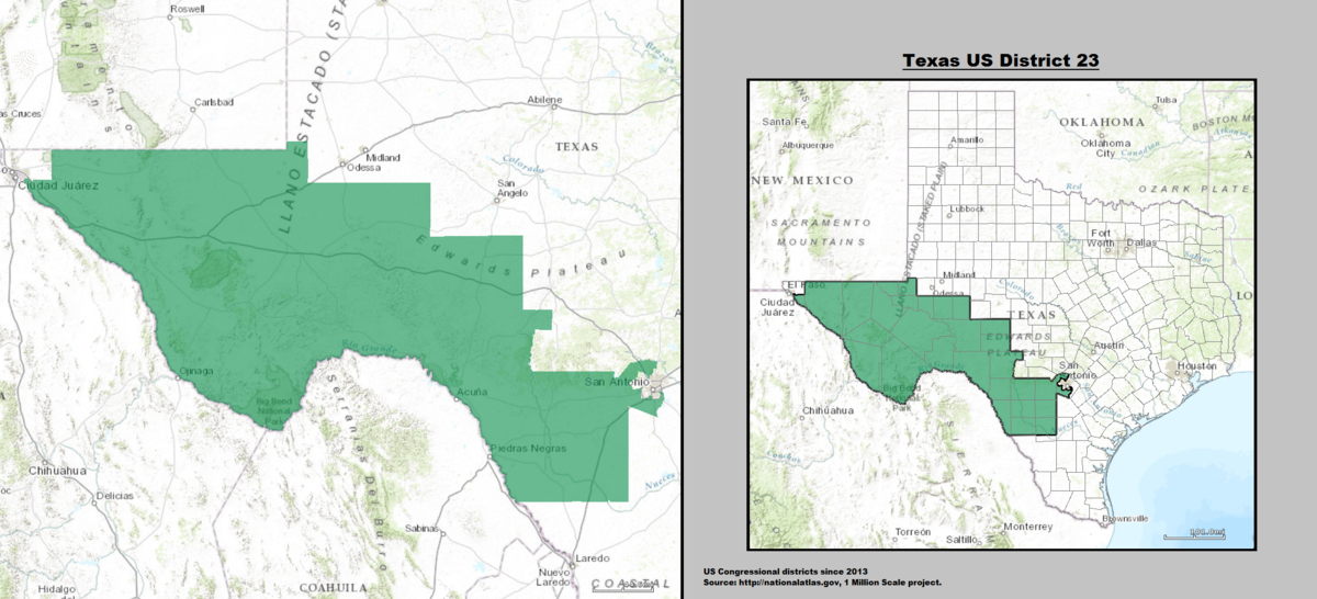 Texas's 23rd congressional district - Wikipedia
