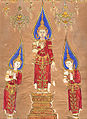 Thai - Buddha and Two Disciples - Walters 20101211.jpg