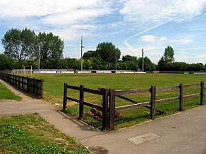 Thatcham Town F.C. - The club's ground Waterside Park