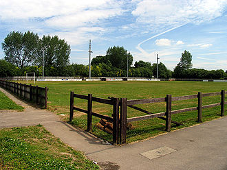 Thatcham - Waterside Park, the home of Thatcham Town