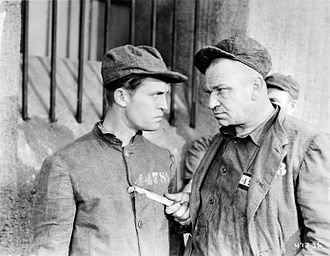 Wallace Beery - Chester Morris and Wallace Beery in The Big House (1930)