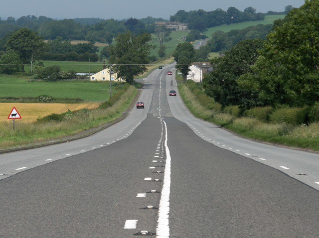 The A6 - geograph.org.uk - 195885
