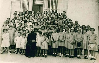 Mahdi Abdul Hadi - The Abdul Hadi Brothers as Refugees at the Jounieh Jesuit School, Beirut (1949)