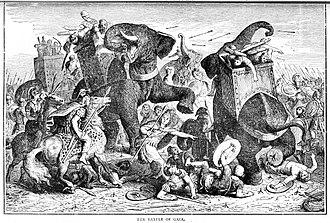 Battle of Gaza (312 BC) - The Battle of Gaza, 312 BC
