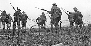 The Battle of the Somme (film) - Image: The Battle of the Somme film image 1