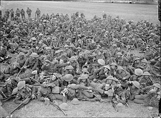 72nd Brigade (United Kingdom) - Men of the 1st Battalion North Staffordshire Regiment near Cassel, 12 September 1917.