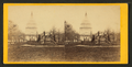 The Capitol from East Captiol Square. Marble statue of Washingtion in the foreground, by E. & H.T. Anthony (Firm).png