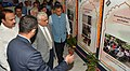 The Chief Election Commissioner, Shri O.P. Rawat visiting an exhibition, during the poll-preparedness review meeting, in Jaipur (Rajasthan) on September 17, 2018. The Election Commissioner, Shri Ashok Lavasa is also seen.JPG