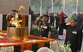 The Chief of Army Staff, General Bipin Rawat paying homage to the Martyrs, on the occasion of 71st Infantry Day, at the Amar Jawan Jyoti, India Gate, in New Delhi on October 27, 2017.jpg