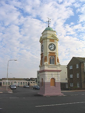 English: The Clocktower, West Parade, Bexhill,...