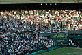 The Crowd at Centre Court, Wimbledon.jpg