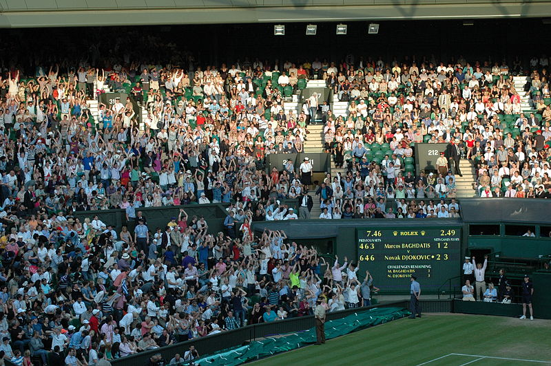 Fișier:The Crowd at Centre Court, Wimbledon.jpg