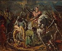 The Death of Gaston de Foix in the Battle of Ravenna