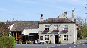 Treales, Roseacre and Wharles - Image: The Derby Arms. Photograph by Brian Young 2011