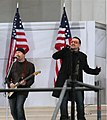 The Edge Bono Lincoln Memorial 2009.jpg