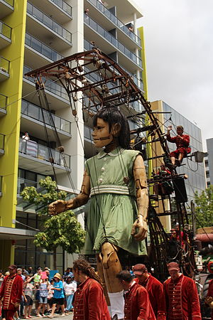 Perth International Arts Festival - Royal de Luxe: The Incredible and Phenomenal Journey of the Giants to the Streets of Perth, 2015