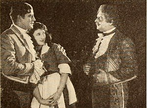 George Periolat - Periolat (right) in The Kiss (1921)