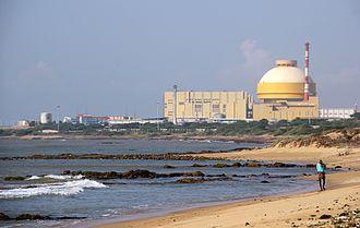 Kudankulam Nuclear Power Plant - Kudankulam Nuclear Power Plant in 2014