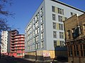 The Lighthouse PH and new block,Wick Lane, Bow. E3.jpg