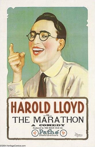 The Marathon (film) - Theatrical poster to The Marathon