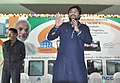 """The Minister of State for Urban Development, Housing and Urban Poverty Alleviation, Shri Babul Supriyo addressing at the inauguration of the mobile toilets, as part of the """"Swachh Bharat Mission"""", in Asansol, West Bengal.jpg"""