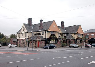 Great Boughton - Image: The Peacock geograph.org.uk 68131