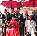 The President, Smt. Pratibha Devisingh Patil visiting the India Pavilion, at Shanghai Expo, in Shanghai on May 30, 2010 (1).jpg