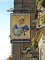 The Punchbowl Inn sign, 12 Oxford Street - geograph.org.uk - 1850416.jpg