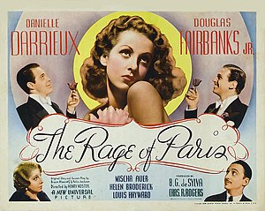 The Rage of Paris - Image: The Rage of Paris Poster