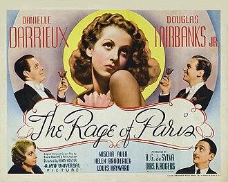 The Rage of Paris - Image: The Rage of Paris Poster