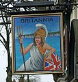 The Sign of the Britannia, Brigg - geograph.org.uk - 794250.jpg
